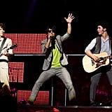 Jonas Brothers Burnin' Up Tour Costumes