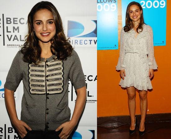Photos of Natalie Portman at the Tribeca Film Festival