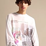 "Fenty Long Sleeve Printed T-Shirt ""Immigrant"""