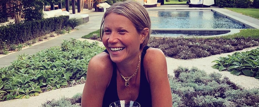 Gwyneth Paltrow's Reaction to a Meme of Herself August 2018
