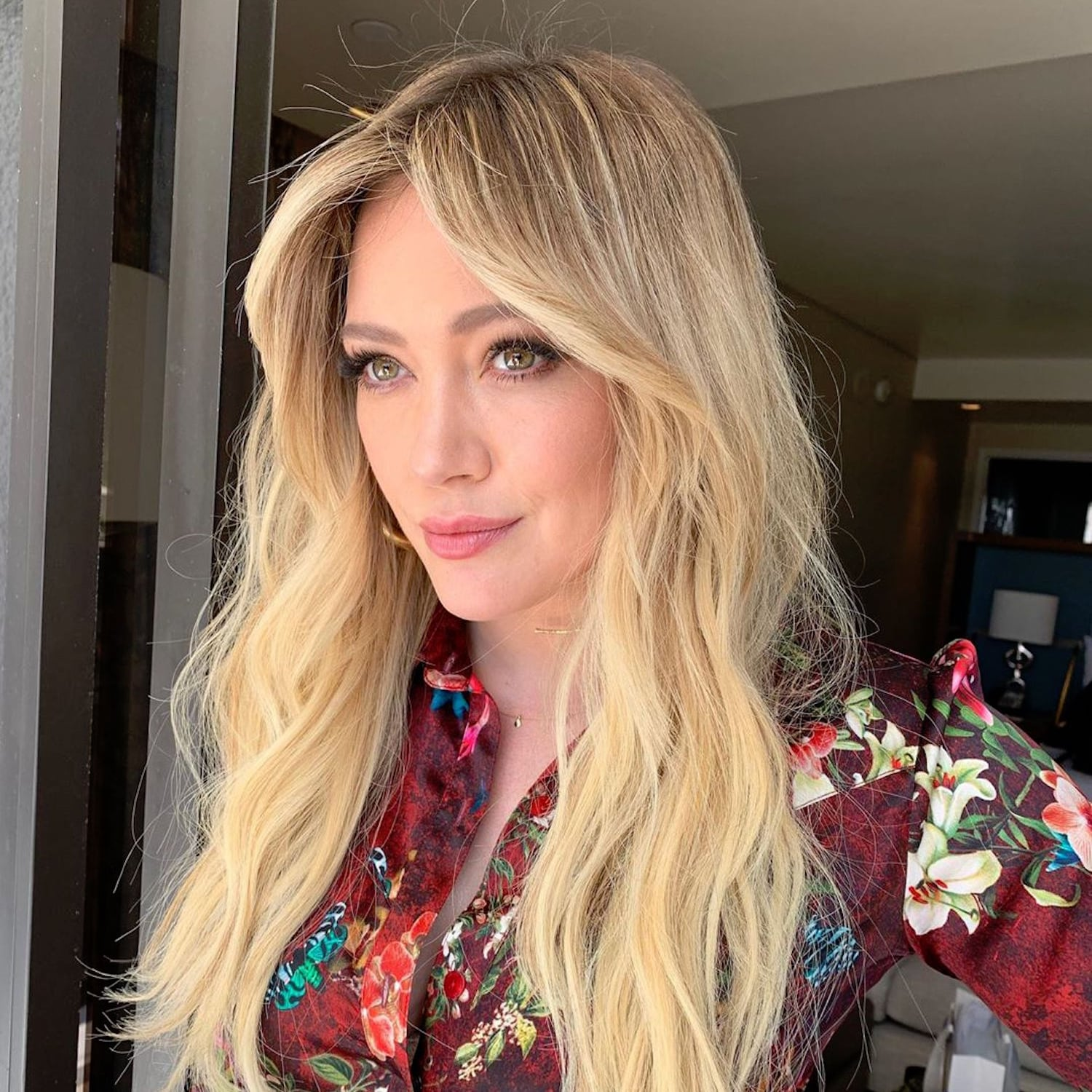 Hilary Duff Bangs Haircut May 2019 Popsugar Beauty