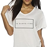 Peace Love World La Buena Vida Oversized Mia V Top ($88)
