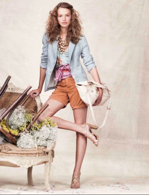 J.Crew's Military Meets Sparkle Spring 2010 Look Book