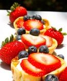 Blueberry, Strawberry, and Yogurt Crepe Dessert Recipe 2011-06-30 09:53:33