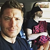 When Jensen Caught Jared Sleeping . . .