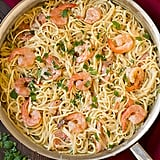 1-Pot Creamy Parmesan Linguine With Shrimp