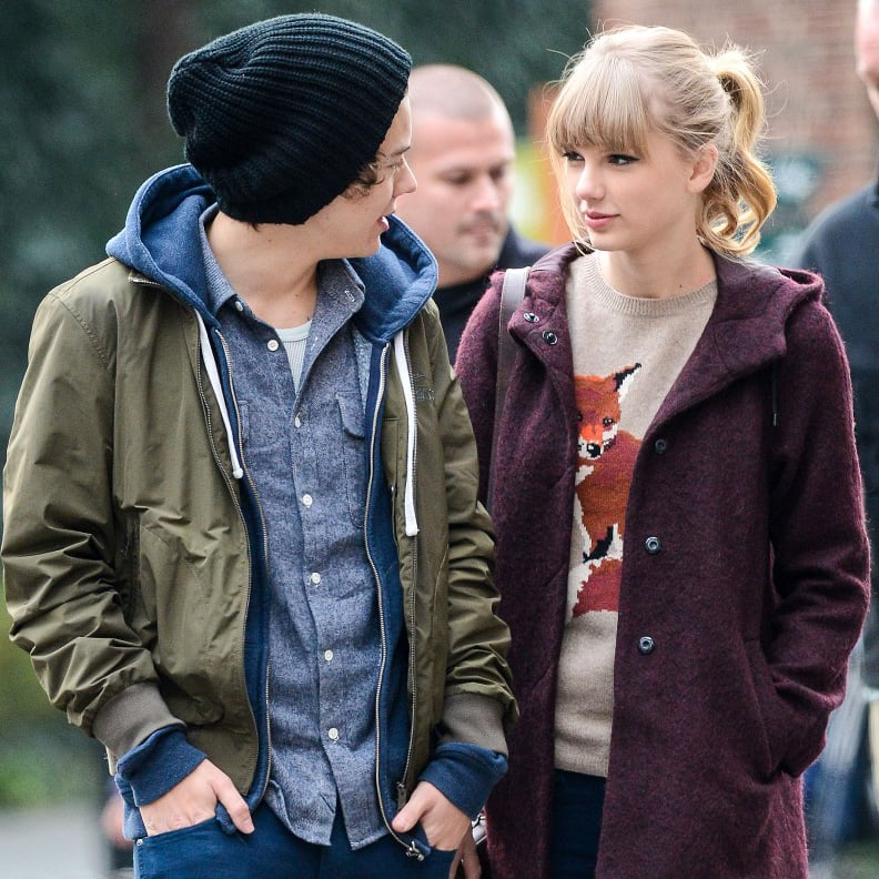 taylor swift and harry styles pictures popsugar celebrity