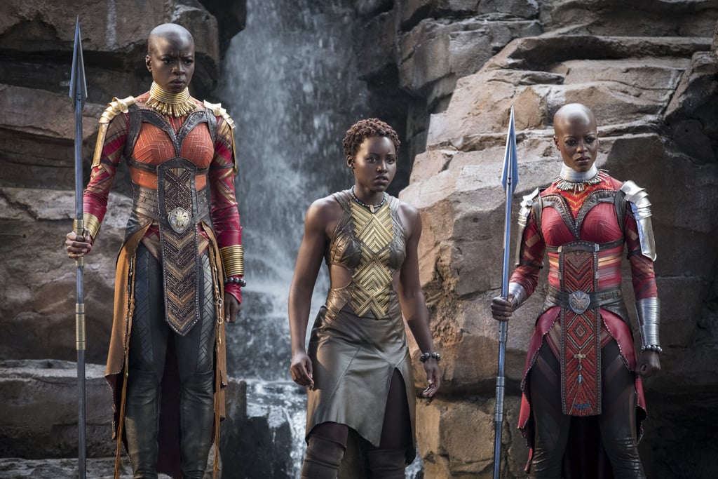 Image result for black panther nakia and okoye
