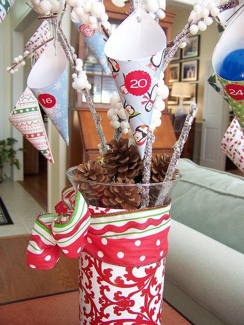DIY: Hi Sugarplum's Advent Calendar Tree