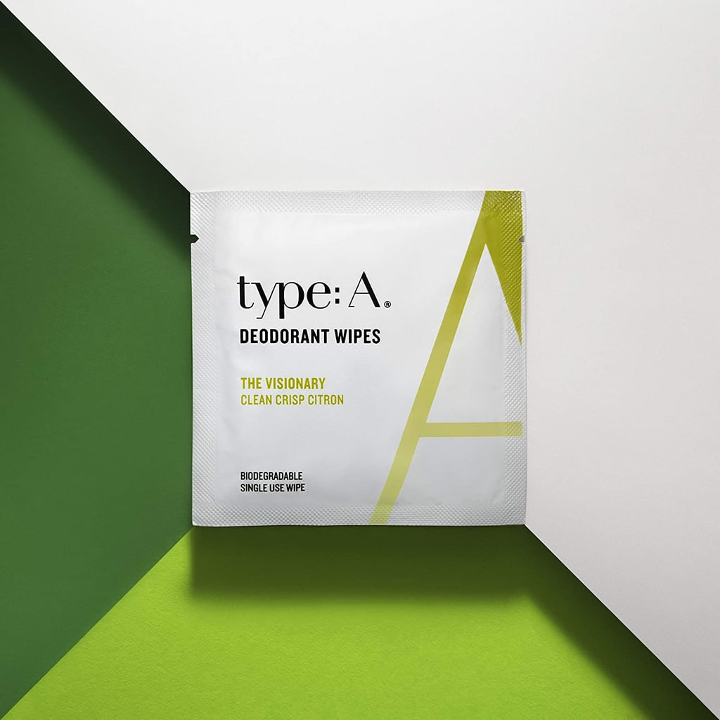 type:A Deodorant Wipes - Refreshing Citrus Scent