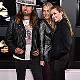 Pictured: Billy Ray Cyrus, Tish Cyrus, and Miley Cyrus