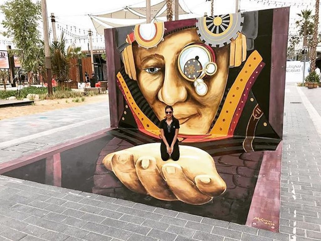 2018 Dubai Canvas Pictures