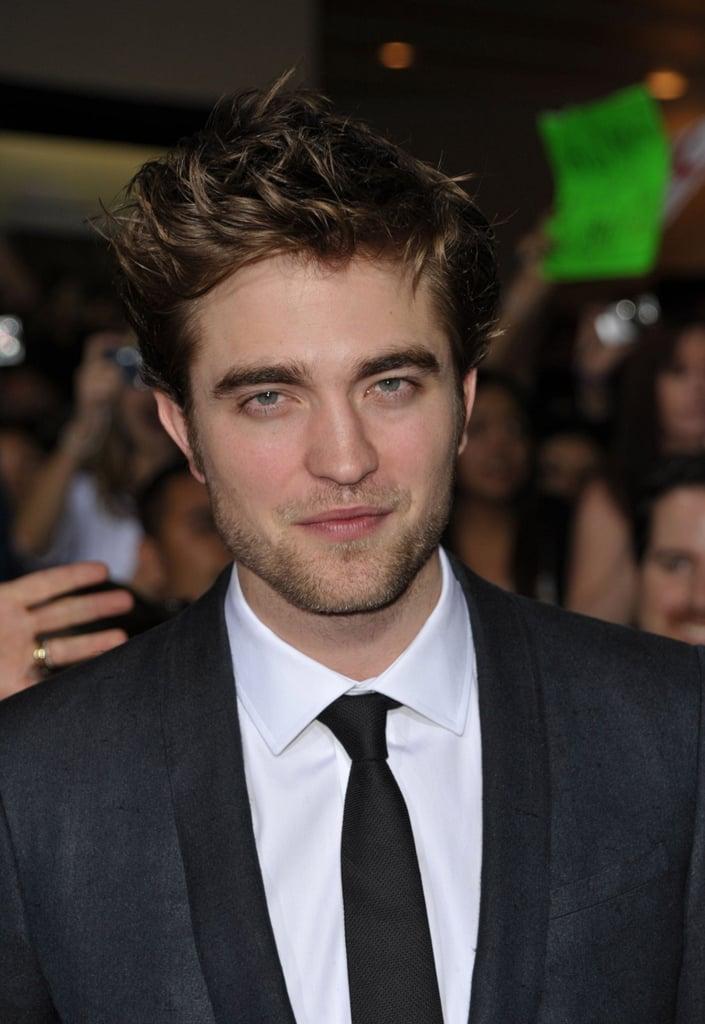 Photos of Robert Pattinson at New Moon LA Premiere