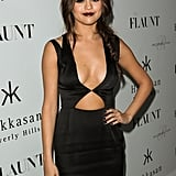 Selena Gomez stepped out for Flaunt magazine's issue launch party in LA.