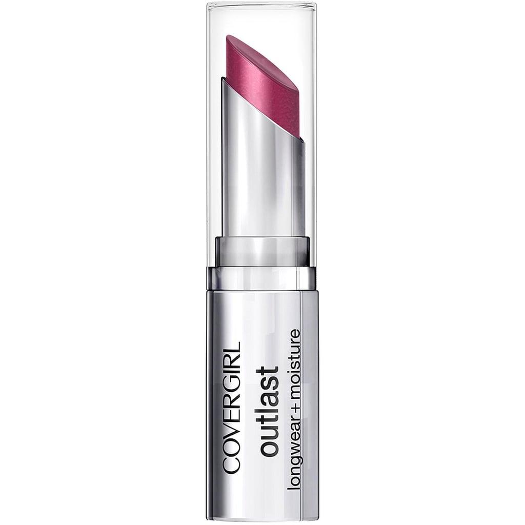 CoverGirl Outlast Longwear + Moisture Lipstick in Plum Fairy ($9)