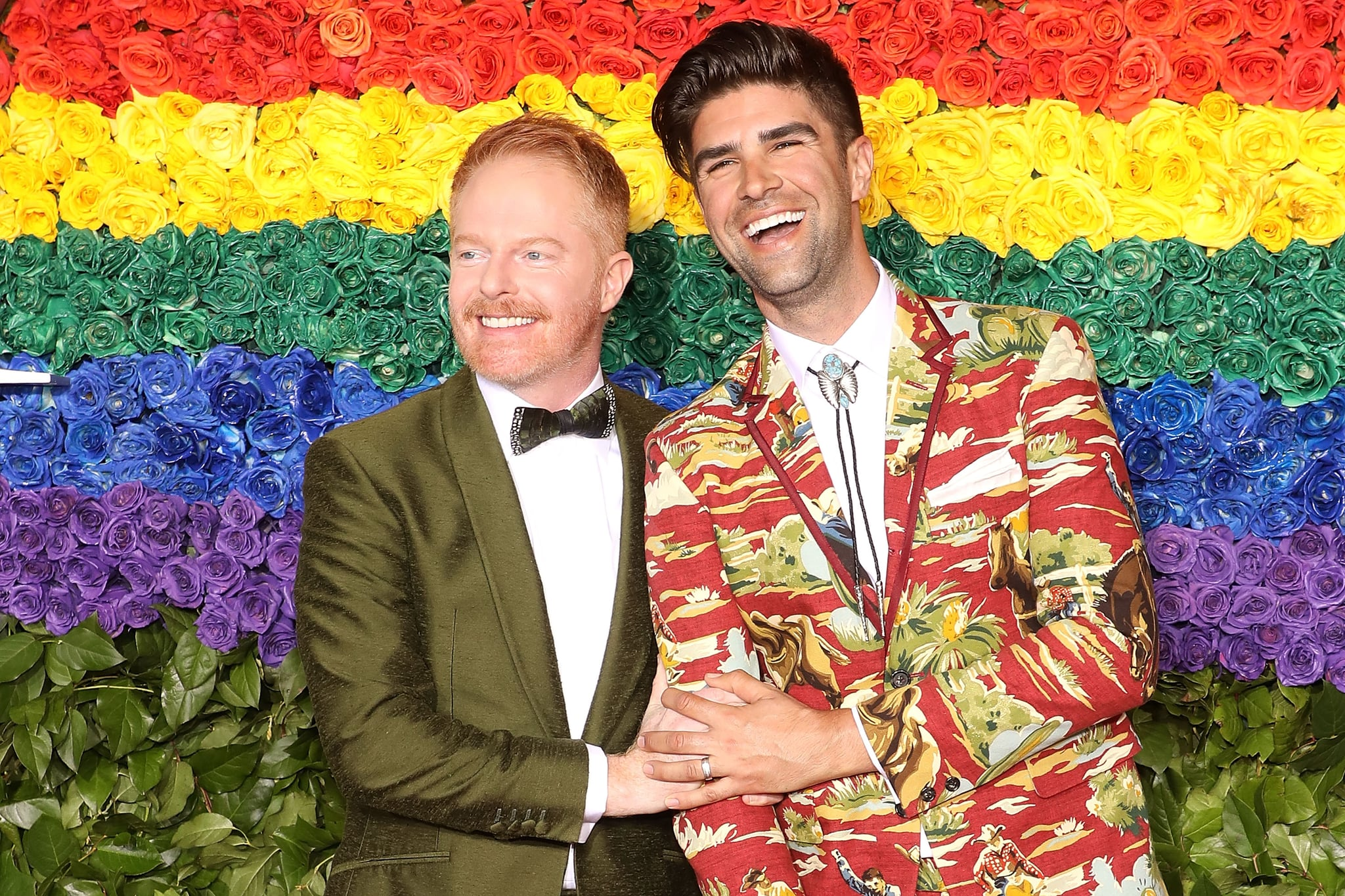 NEW YORK, NY - JUNE 09:  Jesse Tyler Ferguson and Justin Mikita attend the 2019 Tony Awards at Radio City Music Hall on June 9, 2019 in New York City.  (Photo by Taylor Hill/FilmMagic,)