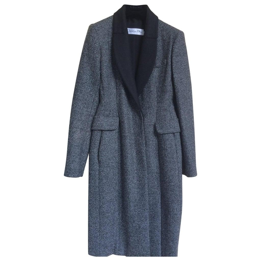 Christian Dior Gray Wool Coat ($2,957)