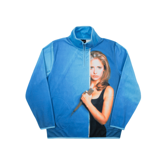 Dumbgood Buffy Gets Stabby Polar Fleece Pullover Review