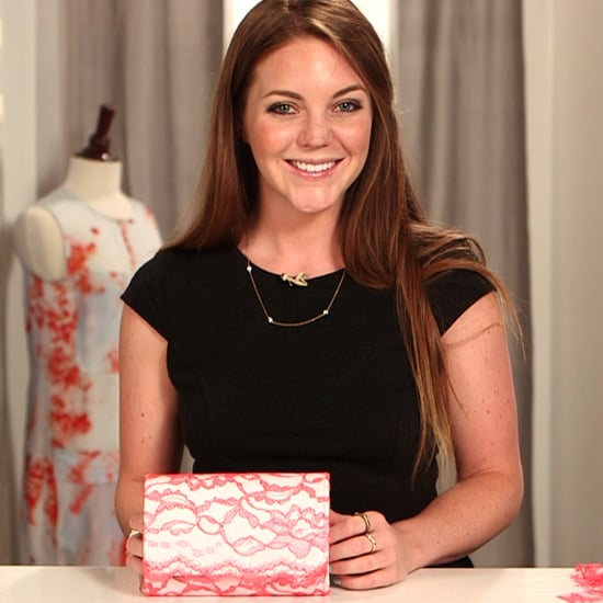 DIY: Neon Lace Clutch | Video