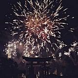 Dinner and Fireworks