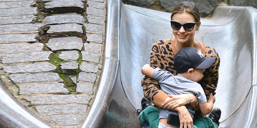 "Miranda Kerr Spends ""Precious"" Time With Flynn in the Park"