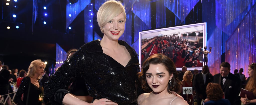 Gwendoline Christie and Maisie Williams Pictures