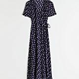 & Other Stories Flowy Wrap Midi Dress
