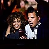 Jennifer Lopez and Alex Rodriguez Instagram Live August 2017
