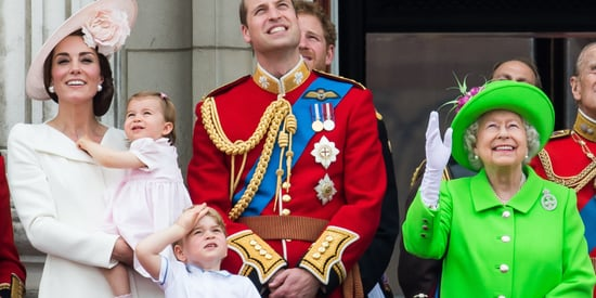 Princess Charlotte Makes Her First Trooping The Colour Appearance