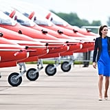 It's not just the royal trio who have been doing more — Prince George appeared at his first UK engagement when he popped up at the Royal International Air Tattoo.