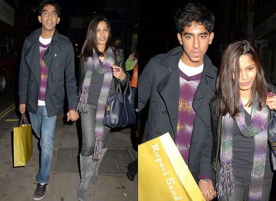 Dev Patel and Freida Pinto Buy Shoes From Rupert Sanderson