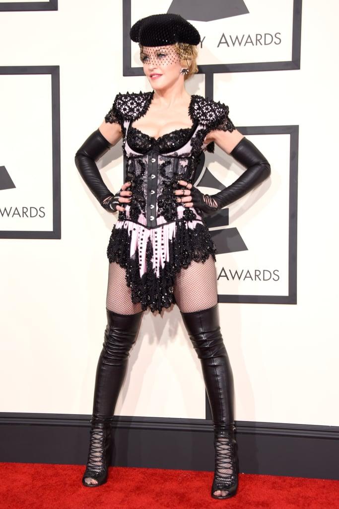 Madonna's Butt-Baring 2015 Grammys Look