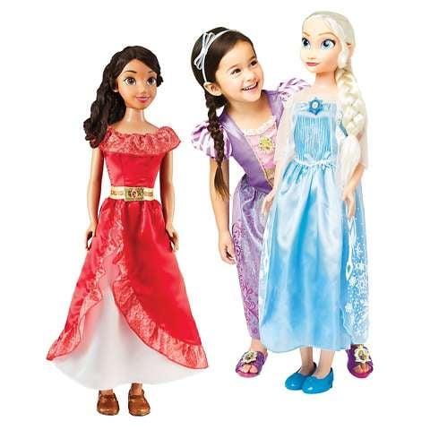 My Size Elena, Elsa, Anna, Rapunzel or Belle Doll