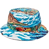 R13 Printed Cotton-Twill Bucket Hat