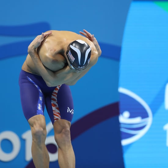 Why Olympic Swimmers Slap Themselves Before a Race