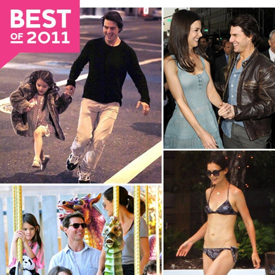 Best Katie Holmes and Tom Cruise Family Pictures of 2011