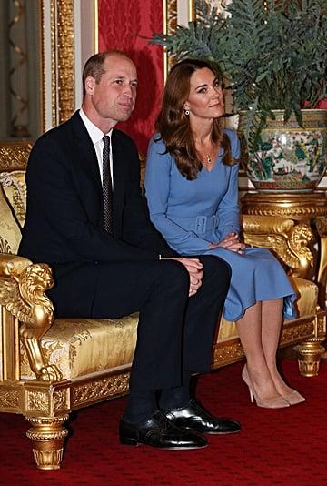 Kate Middleton Wearing Princess Diana's Saudi Sapphire Suite