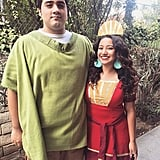 Pacha and Kuzco From The Emperor's New Groove