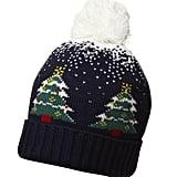 Dorothy Perkins Navy Snowing Tree Hat