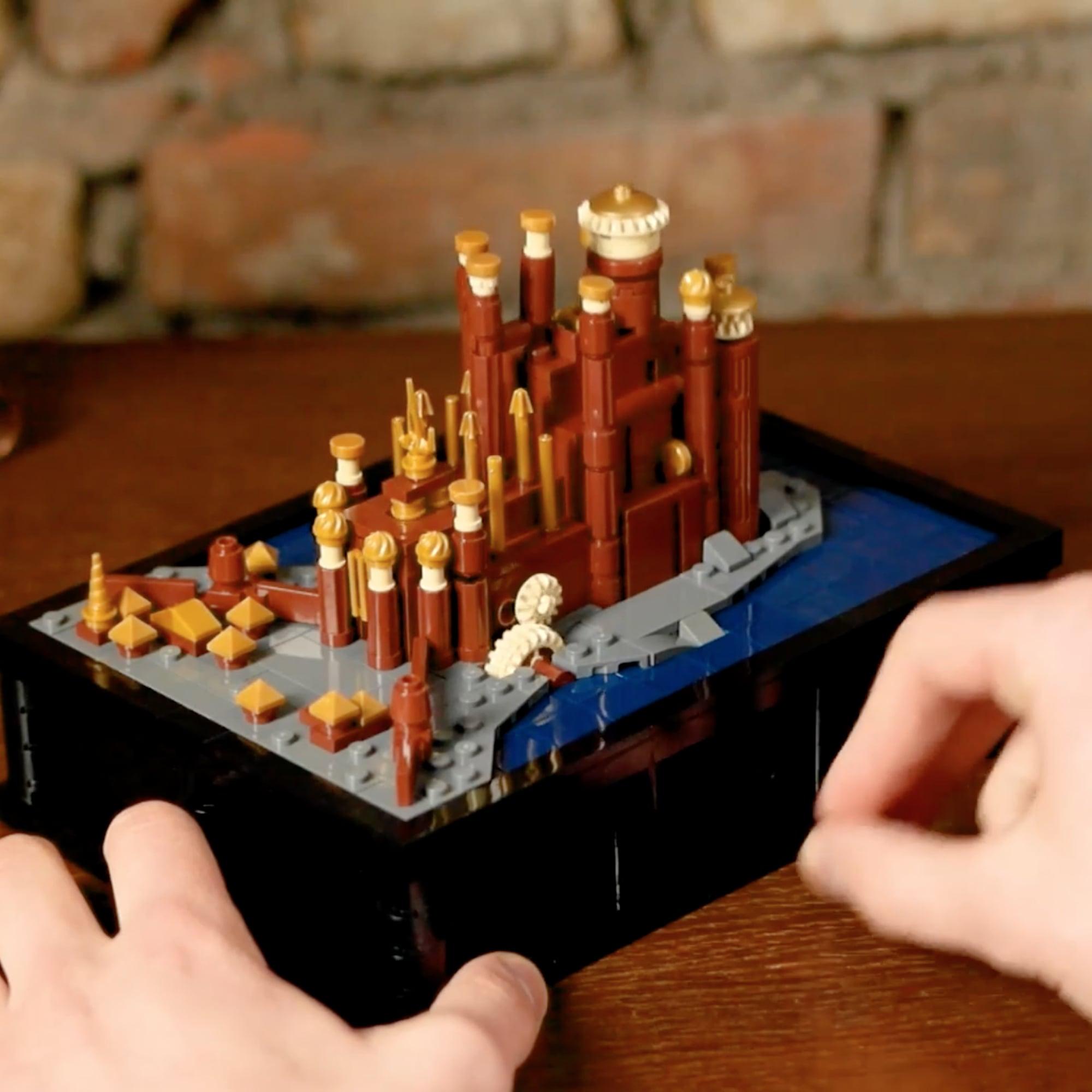 Game of Thrones Moving Lego Castles Video | POPSUGAR Entertainment UK