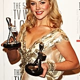Jessica Marais, Winner of Most Popular New Female Talent and Most Outstanding New Talent  (Packed to the Rafters)