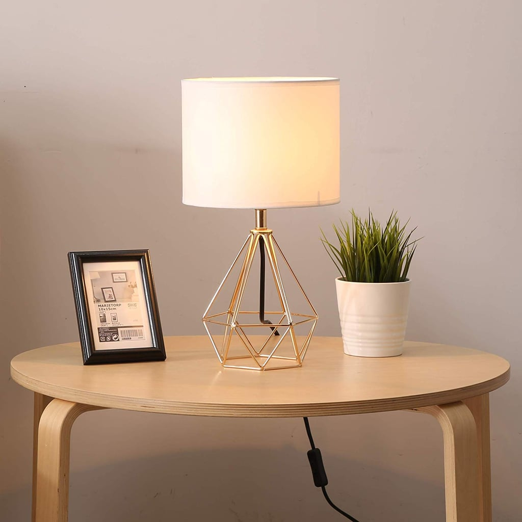 Sottae Golden Hollowed Out Base Modern Lamp