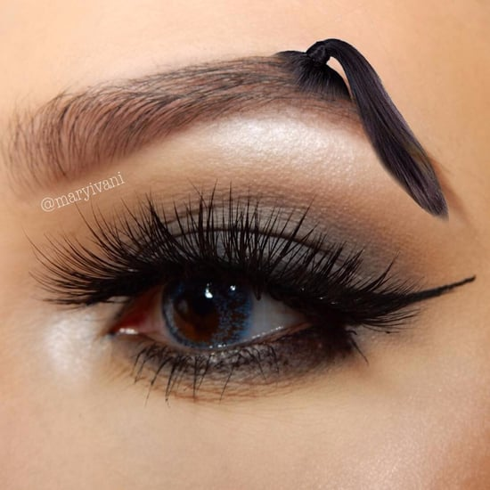 Ponytail Brow Instagram Trend