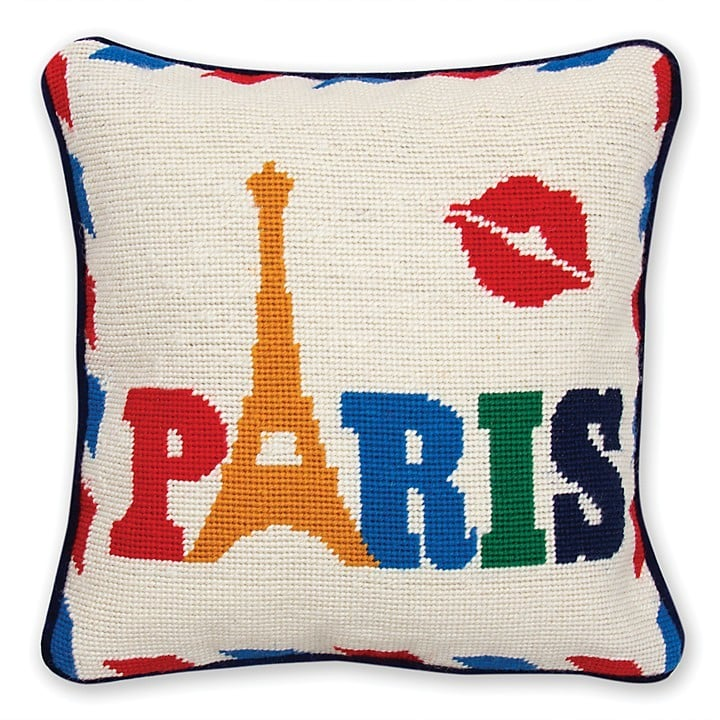 Jonathan Adler Jet Set Paris Pillow