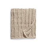Treasure & Bond Jersey Rope Chunky Knit Throw Blanket