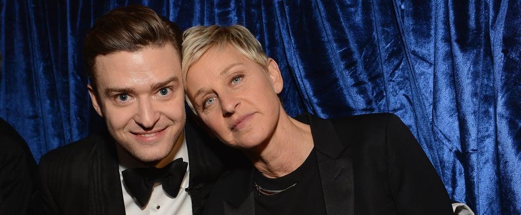 Justin Timberlake on The Ellen DeGeneres Show 2003 Video