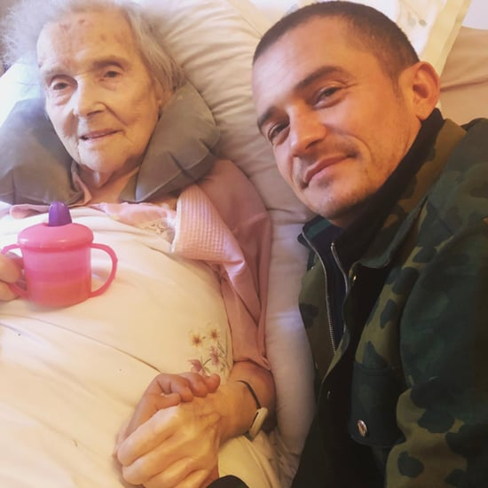 Orlando Bloom's Instagram Photo With His Grandmother