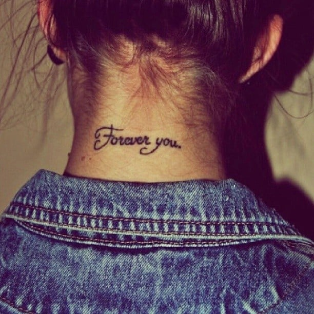 Back of the Neck Tattoo Ideas and Inspiration | POPSUGAR Beauty ...