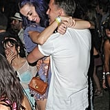 Katy Perry showed PDA with Robert Ackroyd at Coachella in April.