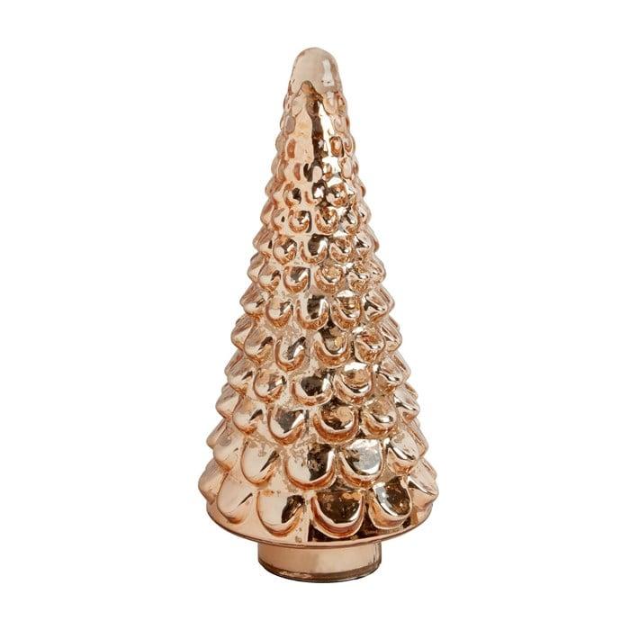 Rose Gold Glass Tree Decor Best Christmas Tree Shops Holiday Decorations Popsugar Uk Parenting Photo 6